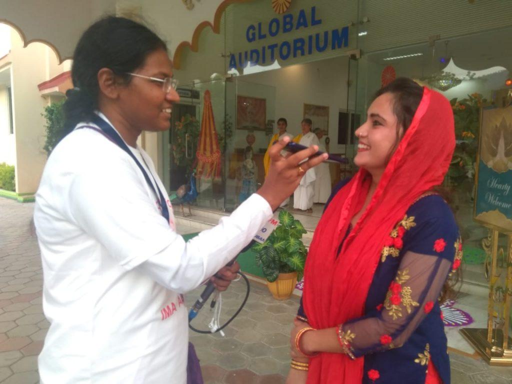 विश्व रक्तदान दिवस पर रेडिओ मधुबन के तरफ  से इंटरव्यू।